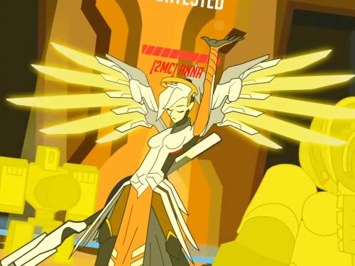 Tendrías que coger a Mercy