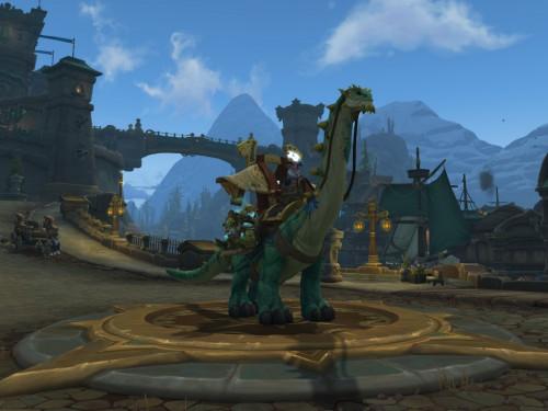 ¡Consigue las Riendas del brutosaurio de la caravana poderoso!