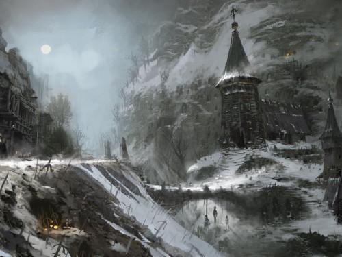 Galería de Arte: Primer Vistazo a Santuario en Diablo IV