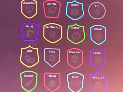 Ciudades Propuestas para la Overwatch League