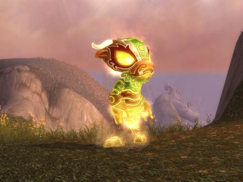 Duelo de Mascota: Espíritu Pandaren Tronador