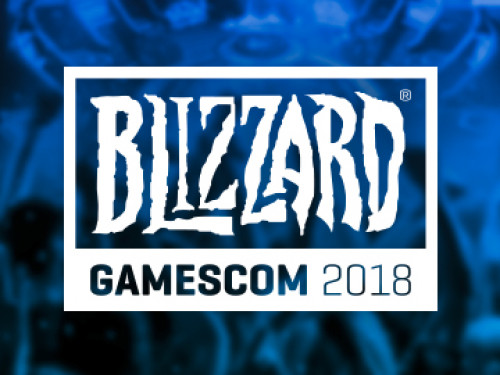 Blizzard Gear en la Gamescom 2018