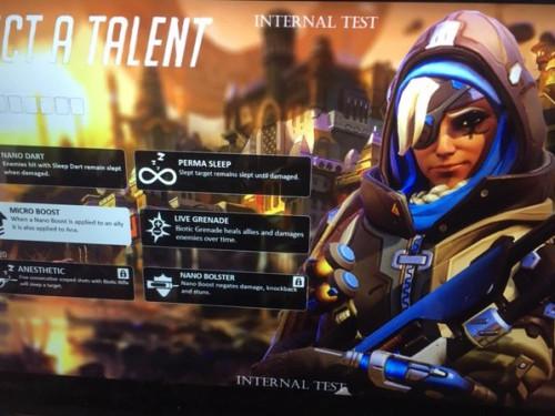 Aparecen unos supuestos talentos de Ana para Overwatch 2