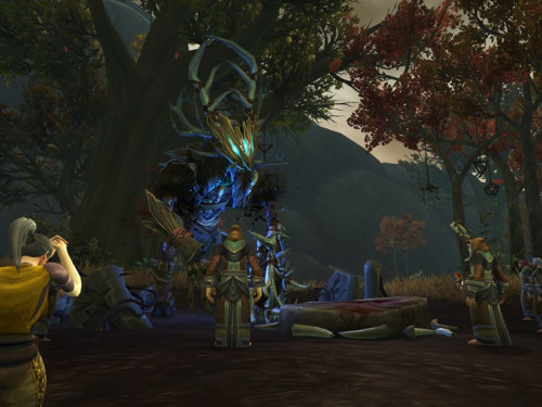 Gameplay en Battle for Azeroth: Drustvar