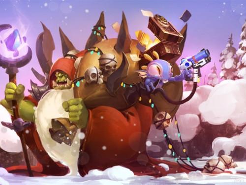 ¡Blizzard nos Felicita las Fiestas!