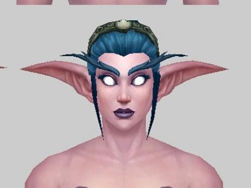 Creación de la comunidad: Variaciones peinados para Elfas de la Noche