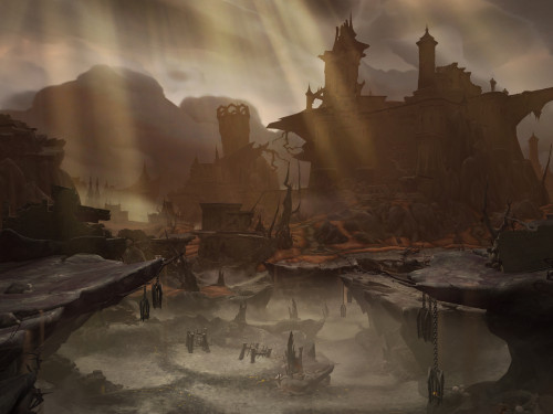 Shadowlands: Características generales de las Curias