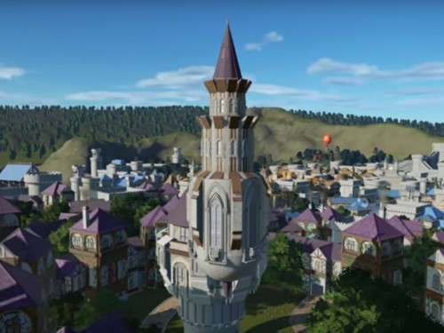 Ventormenta recreado en Planet Coaster