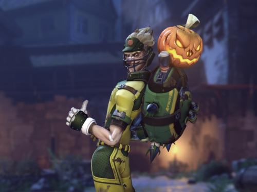 Actualización sobe las poses de victoria de Halloween