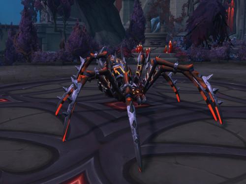 Cómo conseguir la montura Araña de guerra sañosa (Alianza)