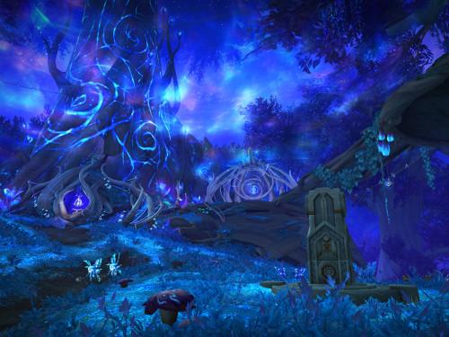 Avance de Shadowlands: Ardenweald y la curia de las sílfides nocturnas