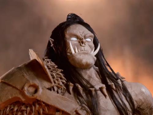 Busto de Grommash Grito Infernal creado por Jazza Studios