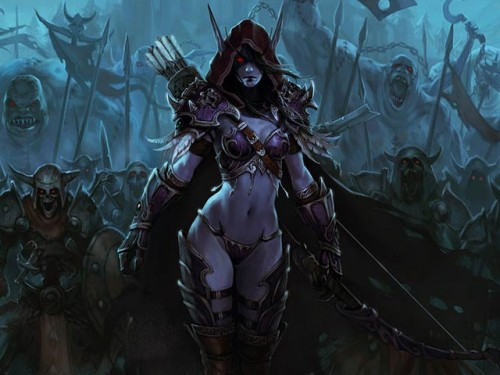 Héroes de Azeroth: Sylvanas Brisaveloz