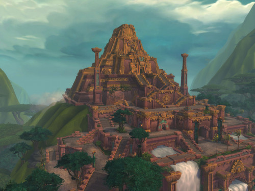 Dazar'alor: Capital de la Horda en Battle for Azeroth