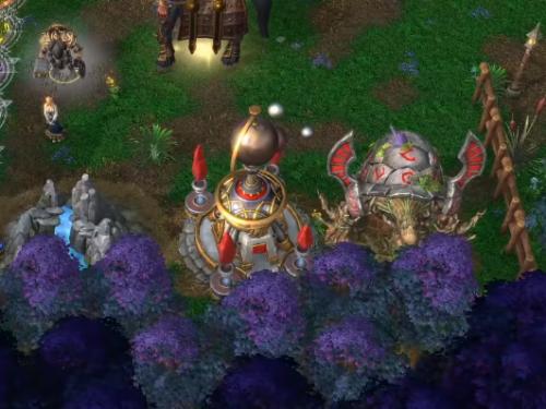 Warcraft III Reforged: ¡Primer Gameplay del mapa Dota dentro del juego!