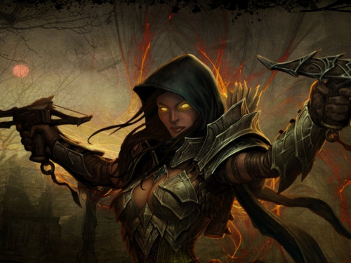 Diablo III: Multishot con el set Esencia Profana del Demon Hunter