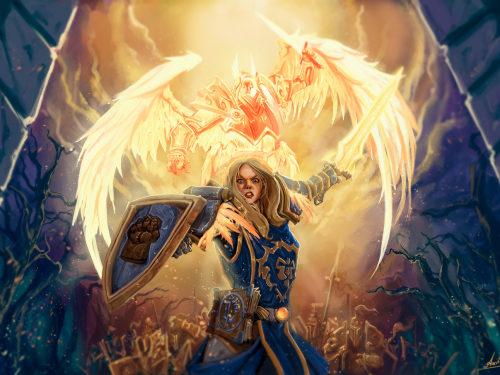 Fan Arts Warcraft: Capítulo CCXXVIII