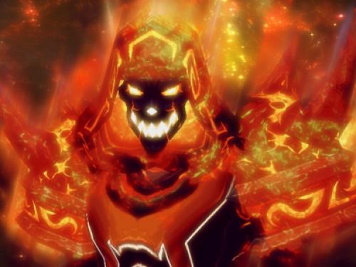 Mago Fuego en Legión