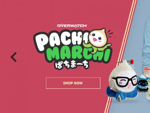 ¡Descuento hasta el 30% en la Gear Store de Blizzard en la compra de artículos Pachimari!