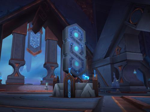 ¡Vista Preliminar de Oribos en Shadowlands!
