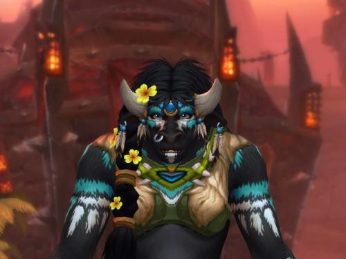 Shadowlands: ¡Nuevas personalizaciones para los Taurens con flores en el pelo!