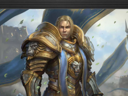 Láminas de Anduin y Sylvanas a la venta en la Blizzard Gear Store de América