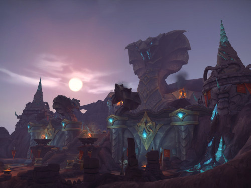 Battle for Azeroth: Guía Turística de Vol'dun