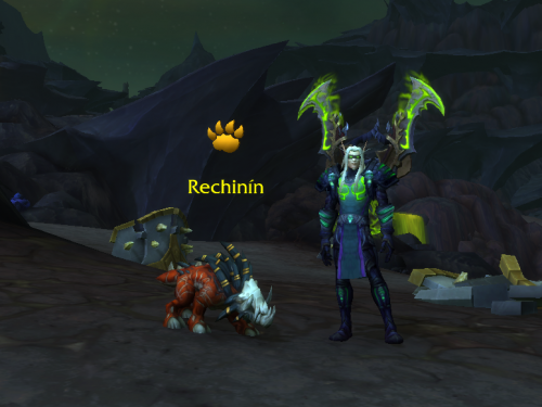 Acechín: Duelo de Mascota