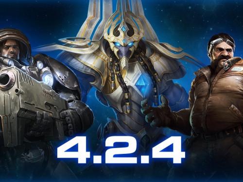 Notas del parche 4.2.4 de StarCraft II