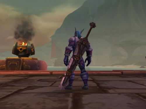 Shadowlands: Nueva arma ligada a cuenta con un diseño parecido a Armagedón