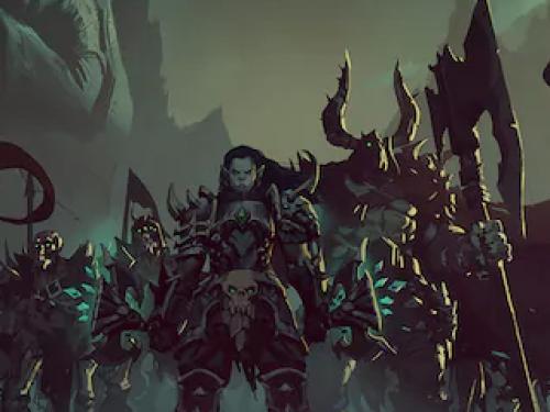 ¡Nuevo arte de Maldraxxus disponible en la Gear Store de Blizzard!