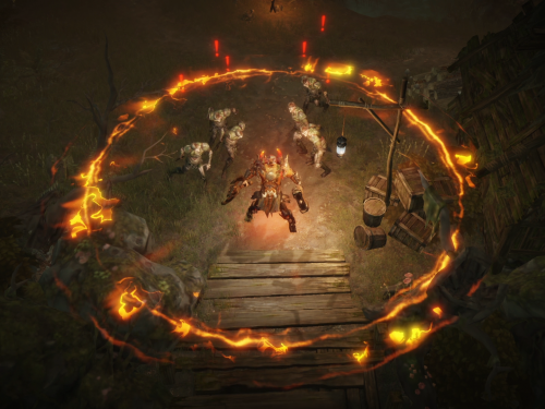 Nuevas imágenes de Diablo Immortal publicadas por Blizzard