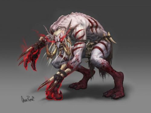 Los Trols de Sangre no están en los planes de Blizzard como Raza Aliada