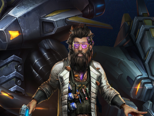 Comandante Starcraft II: Stetmann