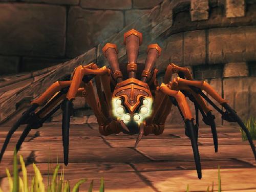 Arañas Mecánicas: Mascotas Cazador del Parche 7.1