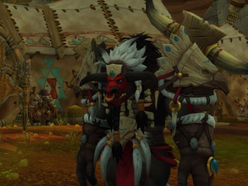 ¡Personajes de las razas aliadas o amigas hacen aparición en Orgrimmar!