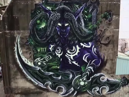 Street Art de Illidan
