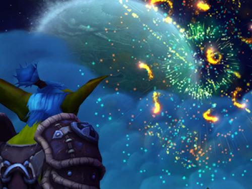 ¡Celebrad el año nuevo con un espectáculo de fuegos artificiales!