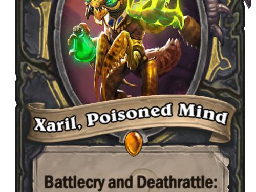 Xaril, la Mente Envenenada: nueva carta legendaria para pícaro