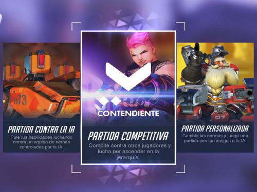Modo Competitivo en Overwatch