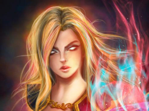 Speed Painting: Jaina