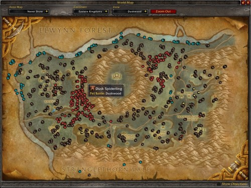 Pet Tracker Addons de WoW
