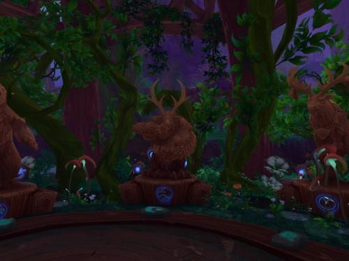 Vista Preliminar: Salas de Clase de Druida y Cazador de Demonios