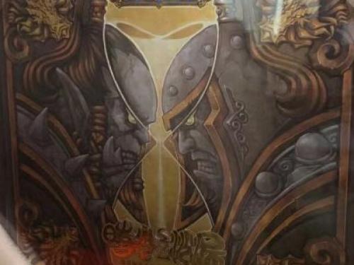 Maravilloso libro de arte de World of Warcraft a la venta en China