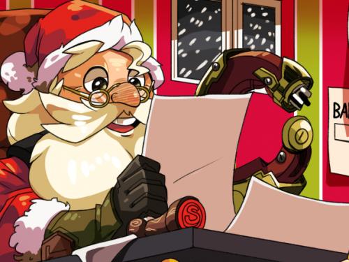 Fan Arts Overwatch: Especial Navidad