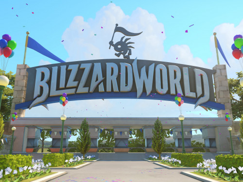 Nuevo Mapa de Overwatch: Blizzard World