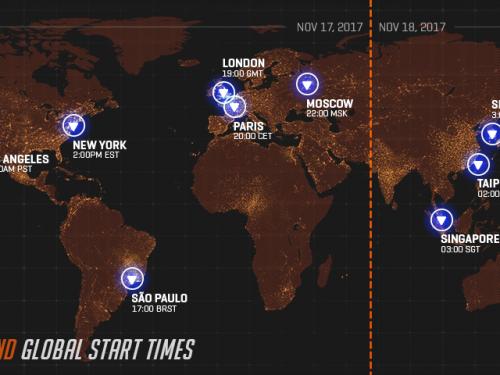 Overwatch Gratuito del 17 al 20 de Noviembre