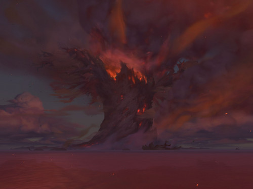 Battle for Azeroth: Costa Oscura tras el Incendio de Teldrassil