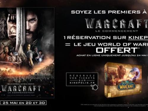 Regalo por la compra de entradas de Warcraft: el Origen
