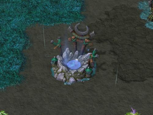 Warcraft III: Reforged - Tutorial ciclo día/noche y pozos lunares